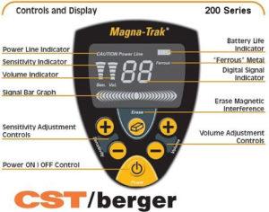 Magnetometr / wykrywacz CST MT-202