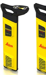 Nowe wykrywacze / lokalizatory instalacji podziemnych Leica DD220, DD230 Smart